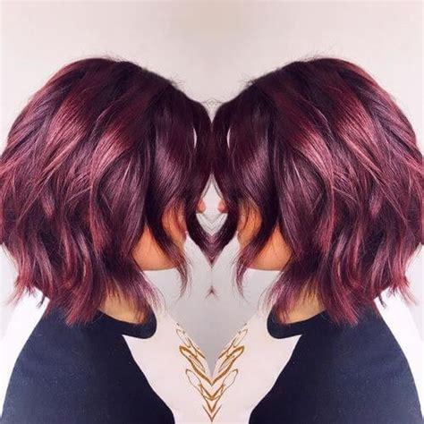 brilliant burgundy hair color ideas trending