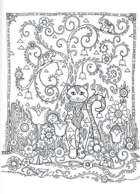 creative cats coloring pages 30 best adult coloring pages images on pinterest