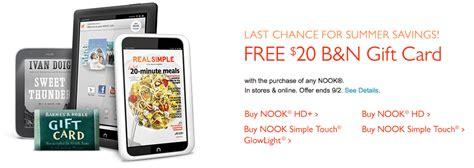 Nook Gift Card - barnes noble coupon and gift card deal miss money bee