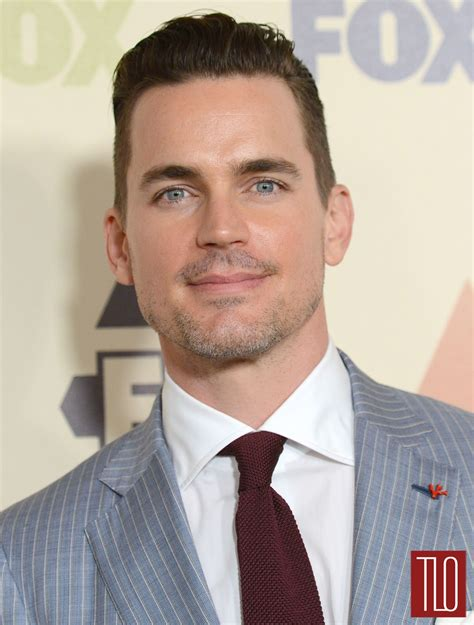 matt bomer at the fox all star party tom lorenzo