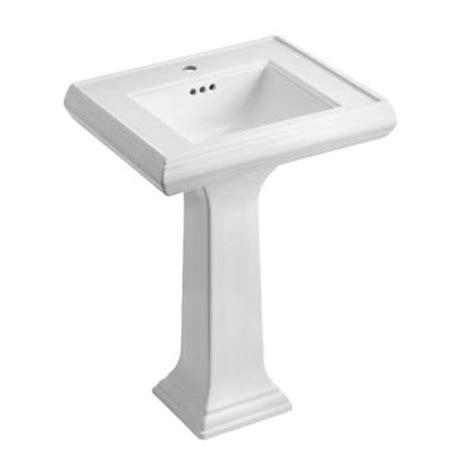 kohler memoirs classic ceramic pedestal combo bathroom