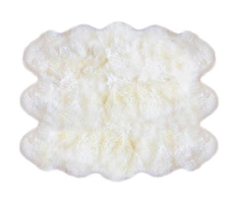 10 Pelt Sheepskin Rug - fibre by auskin sheepskin rugs 6 pelt premium ivory