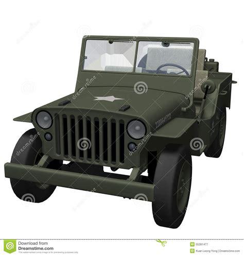 jeep illustration war 2 army jeep stock illustration illustration of