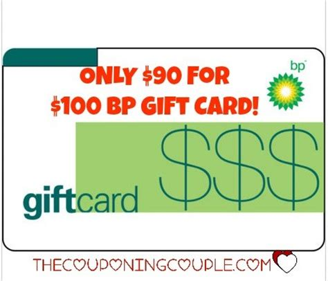 Tcc Gift Cards - wow only 90 for a 100 bp gas gift card