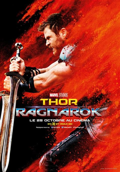 film thor ragnarok bagus affiche du film thor ragnarok affiche 4 sur 14 allocin 233
