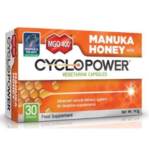 Manuka Honey Manuka Health Mgo 30 500gr manuka health mgo 400 manuka honey with cyclopower 30 capsules