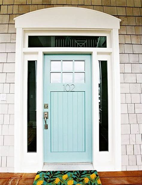 blue front doors 10 colors to paint your front door in 2016 a clore interiors