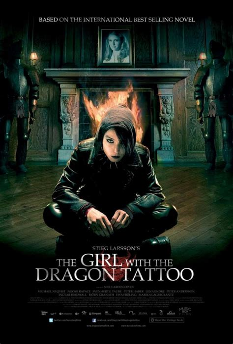 dragon tattoo cast the girl with the dragon tattoo posters filmofilia