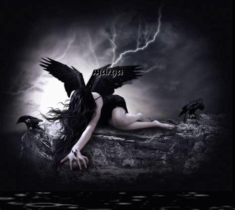 imagenes angel negro marga seoane agosto 2011