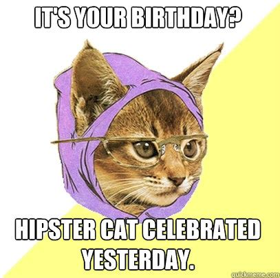 Hipster Kitty Meme - philosoraptor if your smarter quotes quotesgram