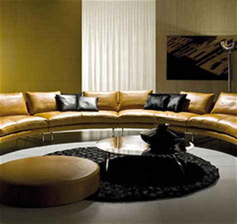 perfect sofas for socializing curved and double sided 30 contemporary sofas for chic homes