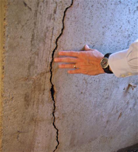 fixing basement wall cracks littleton denver arvada foundation wall cracks