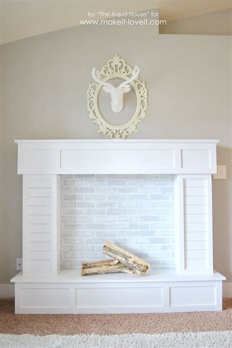 how to make a faux fireplace 25 best ideas about faux fireplace on fireplace faux mantle and