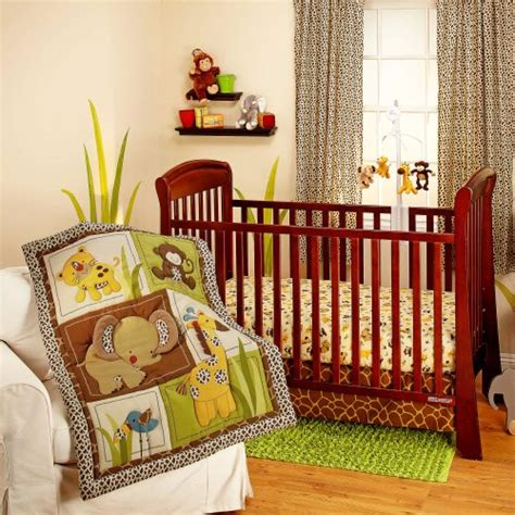 Jungle Crib Bedding Sets Nojo Bedding Jungle Dreams 3 Crib Bedding Set