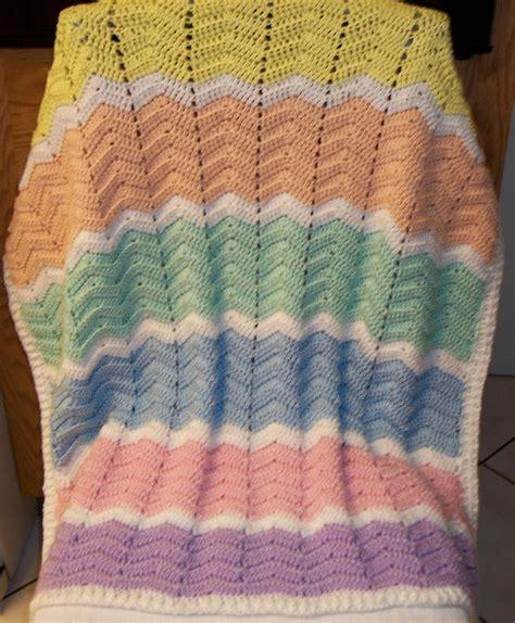zig zag crochet pattern baby blanket crochet baby blanket chevron zig zag pastel or bold colors
