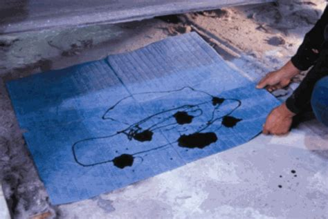 Spilled Gas In Garage by Park Smart Only Absorbent Pad Protect Your Garage