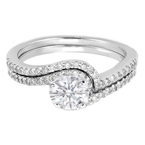 engagement ring swirl engagement ring and