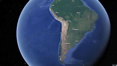 imagenes satelitales mejores que google earth google lanza impresionante nueva versi 243 n de earth tele 13