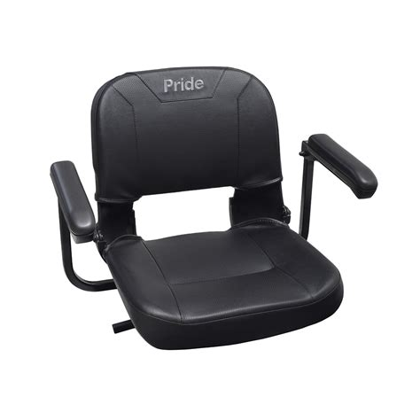 Pride Go Chair Review by 17 Quot X17 Quot Black Textured Vinyl Seat Assembly For The Go Go