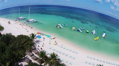 cozumel catamaran snorkel and beach shore excursion deluxe beach catamaran sail snorkel