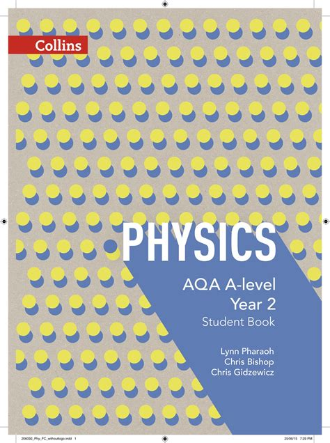 aqa a level philosophy year aqa a level physicsyear 2 student book by bishop 9780007597642 brownsbfs