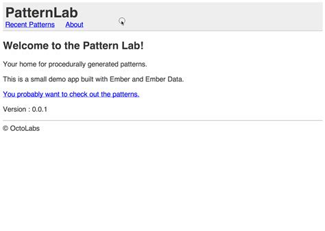pattern lab github supercharge your productivity with ember js