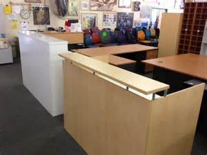 Used Reception Desks Used Reception Desks