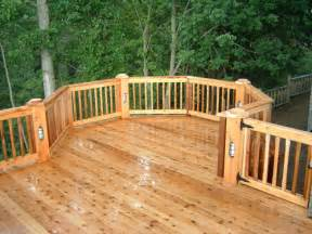 michigan wood deck pictures down home construction