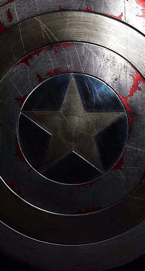 captain america shield iphone wallpaper atmobile