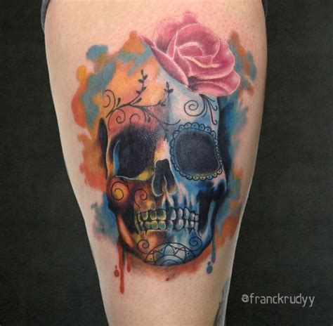 watercolor tattoo philly 16 best images about tattoos by frank rudy on