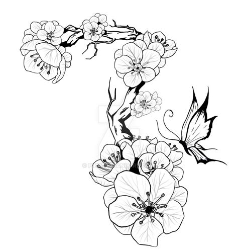 plum blossom tattoo plum blossom design by pibu on deviantart