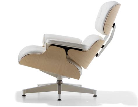 the eames lounge chair white ash eames 174 lounge chair hivemodern