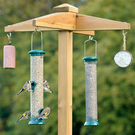 bird feeder hanging pole birdcage design ideas