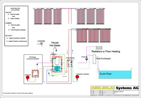 wiring diagram for underfloor heating with radiators k