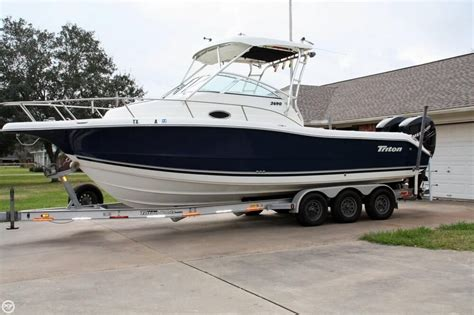 triton boats houston tx 2006 triton 2690 wa 27 foot 2006 triton motor boat in