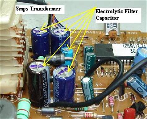 how to discharge motherboard capacitor filter capacitor function