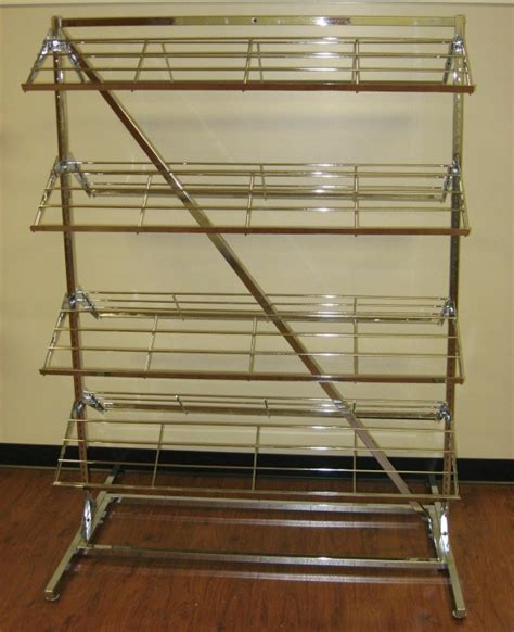 Warehouse Shoe Rack by 8 Shelf Shoe Rack Store Fixture Warehouse