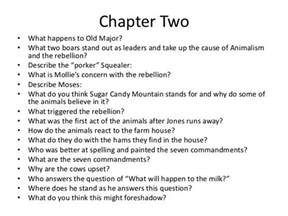 animal farm chapter 1 5 questions
