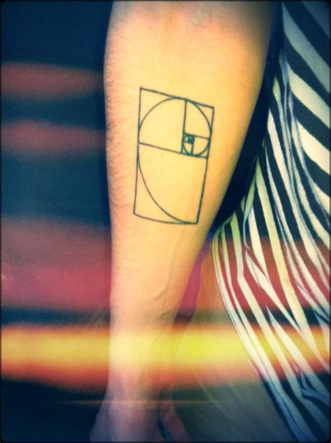golden tattoo best 25 golden spiral ideas on