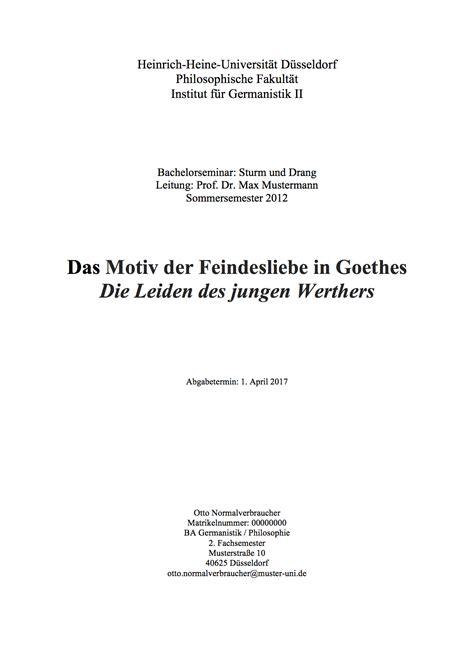 layout word hausarbeit ein deckblatt das 252 berzeugt www hausarbeit schreiben com