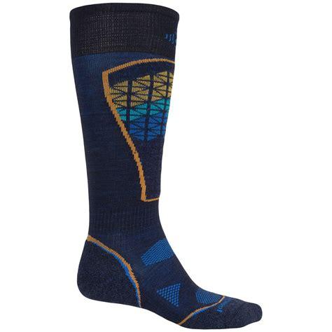 smartwool light the calf sock smartwool phd pattern ski socks for and