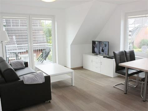 sitzecke wohnzimmer ferienwohnung abendrot nordseeinsel langeoog firma