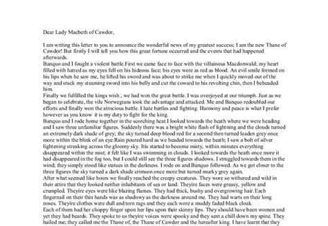 Shakespeare Essay Shakespeare Essay Enom by Macbeth Gcse Essay Enom Warb Co