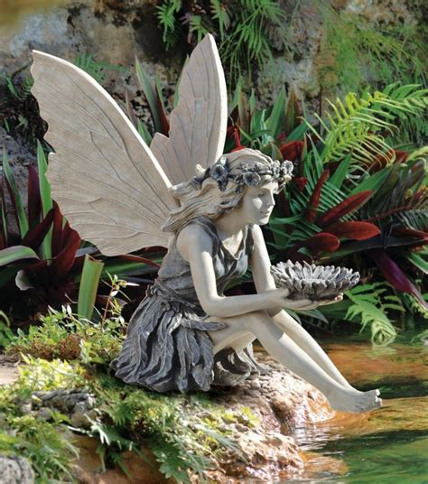 gorgeous fairy figurines and fairy decor for a magical home