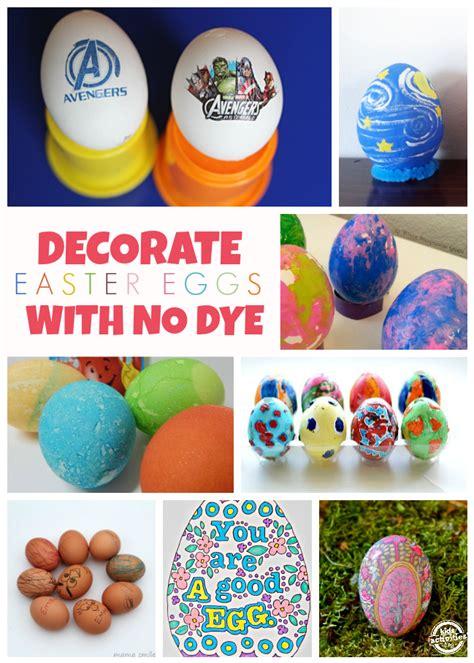 easter egg dye ideas 14 no dye easter egg ideas