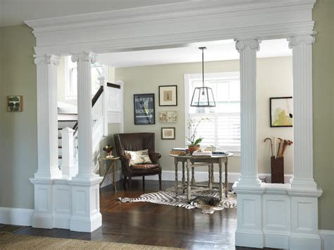 Garage Makeovers by Living Room To Lobby Traditional Entry Providence