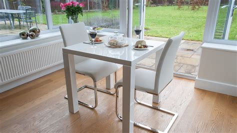 small white kitchen table and chairs modern white gloss kitchen dining set dining chairs uk