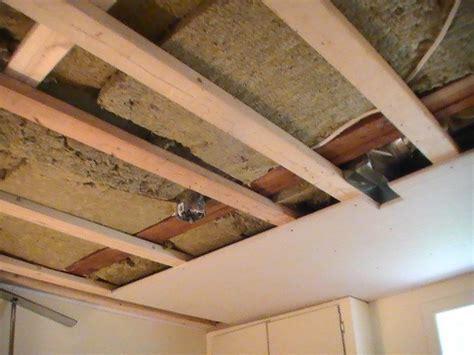 Drywalling A Basement Ceiling by S Handyman Service Basements