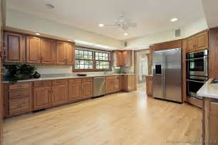 pics for gt medium oak kitchen cabinets