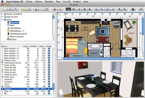 mac os x 3d home design download sweet home 3d for mac os x v5 4 open source